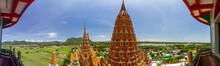 Wat Tham Khao Noi And Wat Tham Sua In Kanchanaburi, Thailand