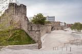Fototapeta Konie - Southampton, Old Town Walls