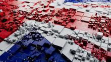 British Flag Tech Background