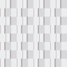 Gray Rectangles Pattern. Vector Mosaic Wallpaper.