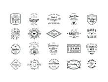 20 Name Badges