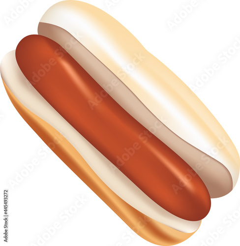 Fotografie, Obraz Classic hot dog