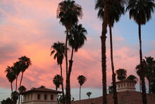 Abendrot In Palm Springs