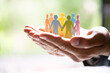 Leinwandbild Motiv Diversity And Inclusion. Business Employment Leadership