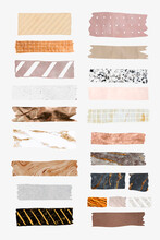 Collection Of Washi Tape Vectors