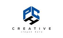 Letter PCH Creative Logo Design Vector