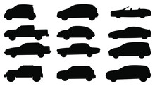Collection Of Cars And Truck Suv Png Vector Isolated On White Background. Car Vector Eps 10.