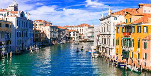 Fotografie, Obraz Beautiful romantic Venice town