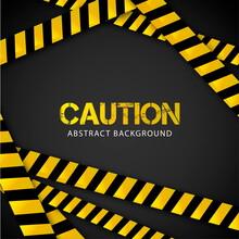 Caution Background Design Vector Illustration