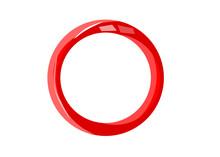 3d Red Circle