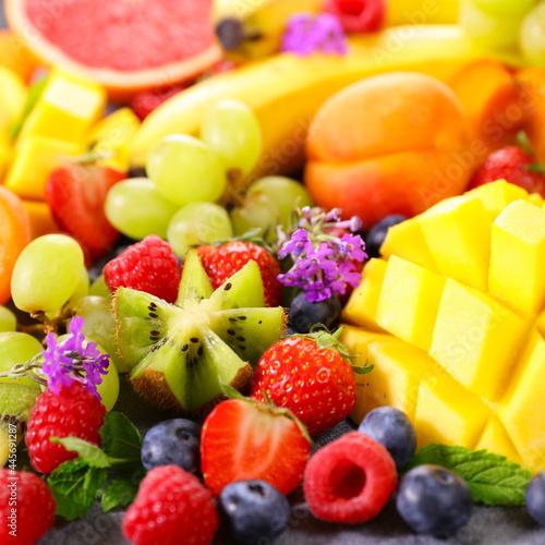 fresh fruits abundance