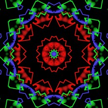 Colourful Floral Pattern Illustration Design.
