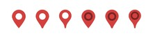 Map Pin Location Icon Vector Isolated On White Background. Gps Marker Sign
