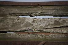 Deski Drewniane Poziome Zniszczone