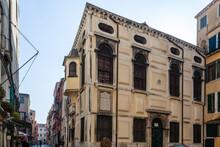 Venezia. Esterno Della Sinagoga Della Scola Spagnola