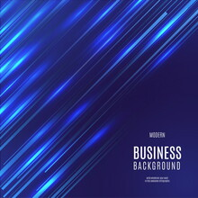 Modern Business Background With Speed Effect Design Vector Illustration