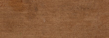 Texture Of Brown Jute Fabric - Grunge Textile Background