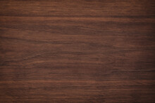 Wood Texture With Natural Pattern. Dark Wooden Background, Brown Board
