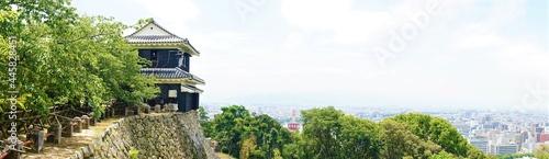Foto 愛媛県 松山市 街並み 松山城からの眺望