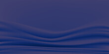 Abstract Vector Background Luxury Navy Blue Color Cloth Or Liquid Wave. Abstract Blue Fabric Texture Background.Rippled Wavy Silk. Shiny Cotton Fabric.Cloth,satin Soft Wave.  Vector Illustration.