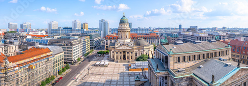 Fotografie, Obraz panoramic view at the gendarmenmarkt, berlin