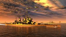 英国海軍観艦式・戦艦「キング・ジョージ5世」(WW2)