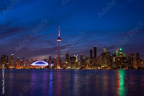 Fototapeta premium Toronto city skyline, Ontario, Canada