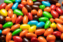 Heap Of Colorful Little Candies