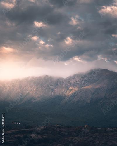 Cerro Uritorco en Capilla del Monte Fototapet