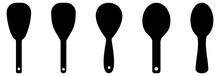 Kitchen Utensils Icon Set Vector Sign Symbol