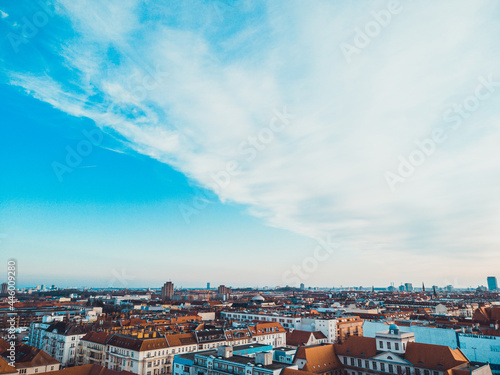 street crossing in berlin, photo from birds eye view Fototapet