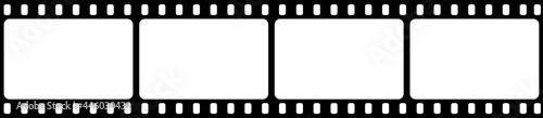 Fotografia, Obraz Film strip isolated vector icon