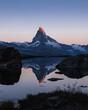 Matterhorn in Morgenstimmung