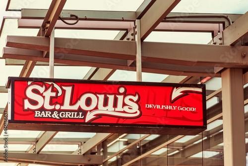 Fototapeta premium St. Louis Bar and Grill, Toronto, Canada-July 1, 2021