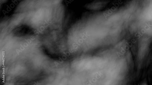 Fotografiet smoke fume gas flowing foggy texture background