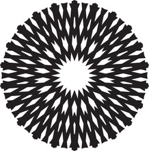 Circle Abstract Shape Icon Logo
