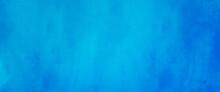 青色、水色の水彩の筆の跡、背景素材、テクスチャ
