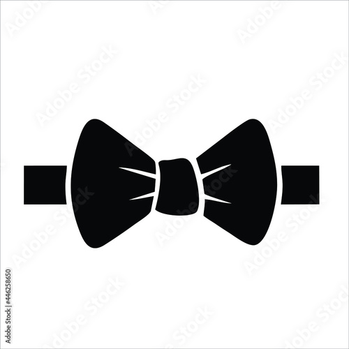 bow tie icon isolated on white background from fame collection Fotobehang