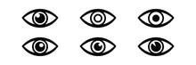 Eye Icon Vector.