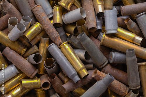 Bullet Shells Background Fototapet