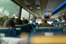 스페인 톨레도로 가는 버스 안 풍경