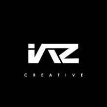 IAZ Letter Initial Logo Design Template Vector Illustration