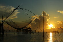 Culture Boat Sunrise Flatter