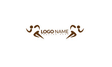 Truck Transport Silhouette Abstract Logo Template Vector