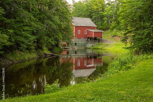 Fotografering The Balmoral Grist Mill in Nova Scotia