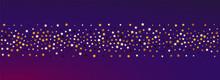 Shiny Universe Vector Panoramic Purple