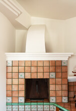 Masonry Oven, Known As A Brick Or Stone Stove For Heating And Cooking.