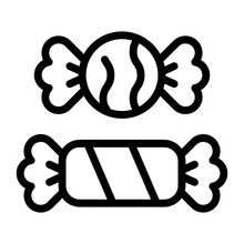 Candy Outline Icon