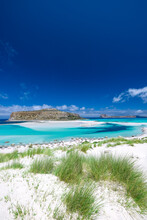 Balos Bay Beach, Gramvousa Peninsula, Crete, Greek Islands, Greece