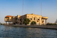 Saddam Hussein's Old Palace, Arvand Rood, Schatt Al-Arab, Basra, Iraq